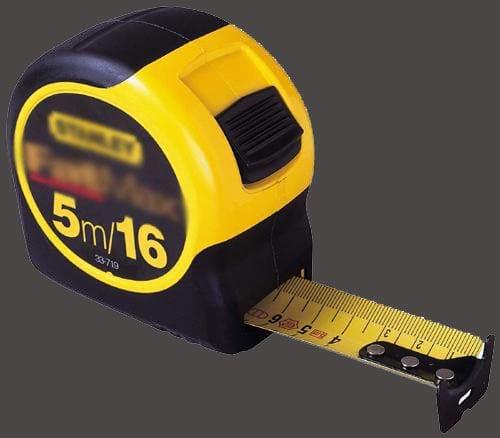 Chuẩn bị dụng cụ là thước đo - Cách đo đất thổ cư