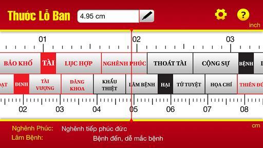Chọn Kích thước nhà ở theo Phong thuỷ bằng thước lỗ ban