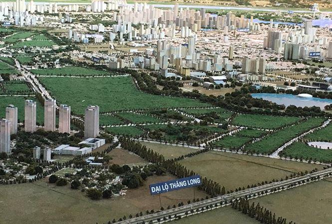 Hình Ảnh minh họa - khu đô thị Hòa Lạc