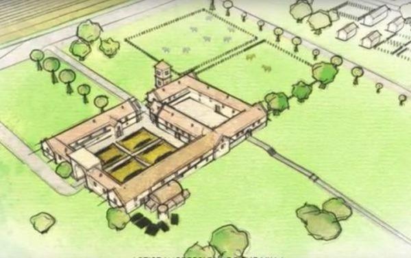 Ảnh minh họa - mẫu Biệt Thự thời kỳ La mã cổ đại