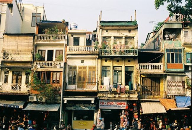 Hình ảnh thực tế Đầu tư đất tại phố cổ Hà Nội - Báo tạp chí thế giới
