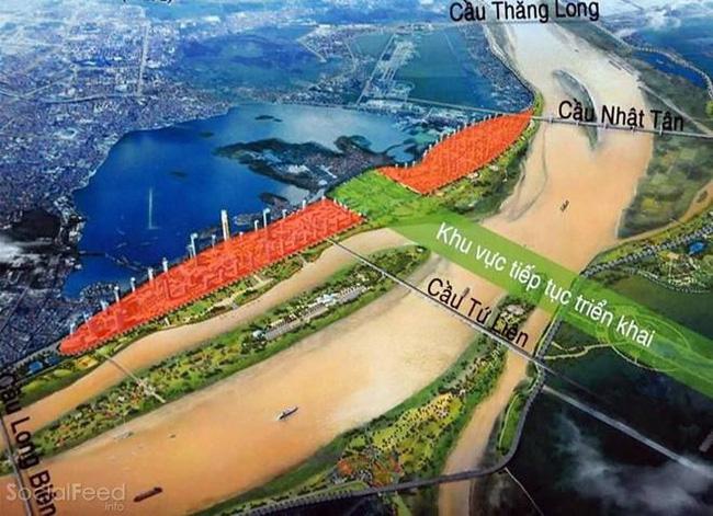 Quy hoạch Dự án xây dựng cầu Tứ Liên tại Hà Nội