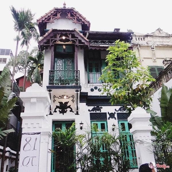 Thiết kế ấn tượng của Biệt thự cổ Hà Nội