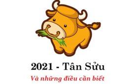 Năm 2021 là năm con gì ? Mệnh gì?